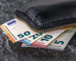 85 eur – bankoviek v peňaženke