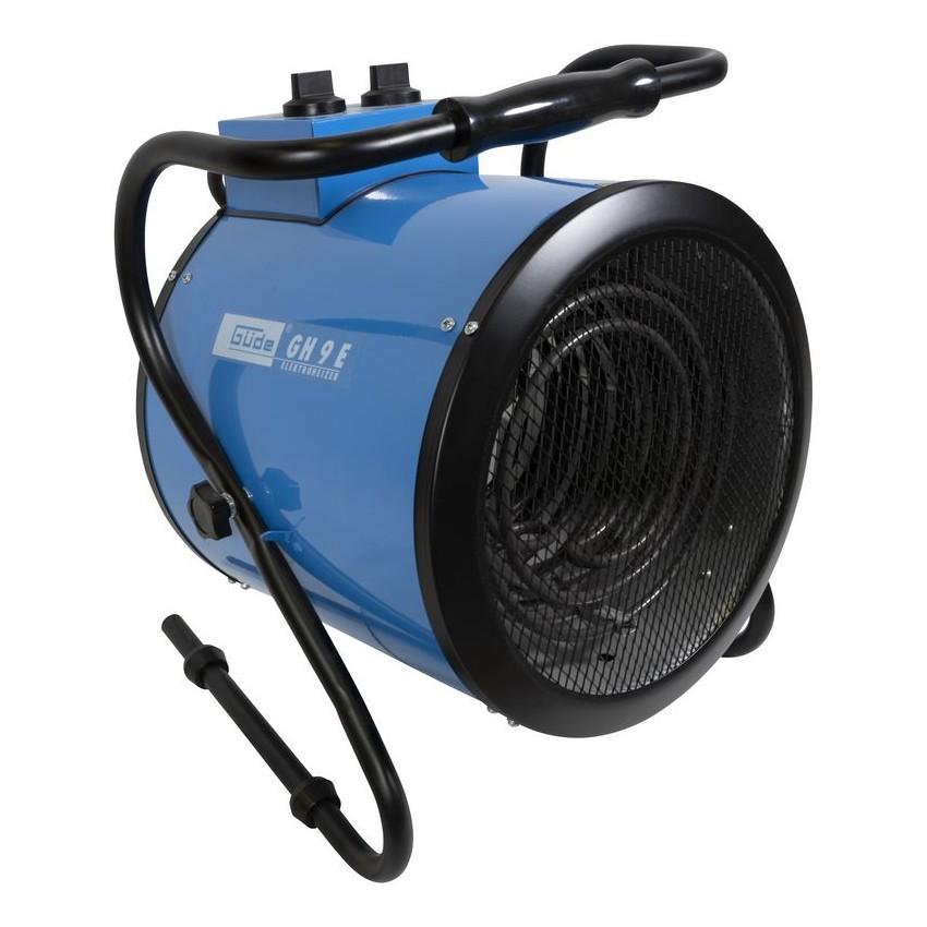 Teplovzdušný ventilátor Gude GEH 3000 – pohľad spredu