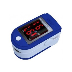 Pulzný oximeter Contec CMS50DL – pohľad zošikma