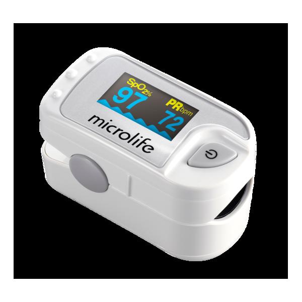 Pulzný oximeter Microlife OXY 300 – pohľad zošikma