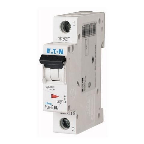 Elektrický istič Eaton B 10A jednofázový (jednopólový)